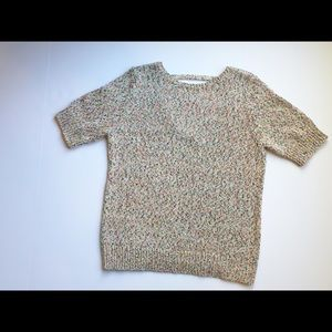 NWT Halogen cutout sweater size L